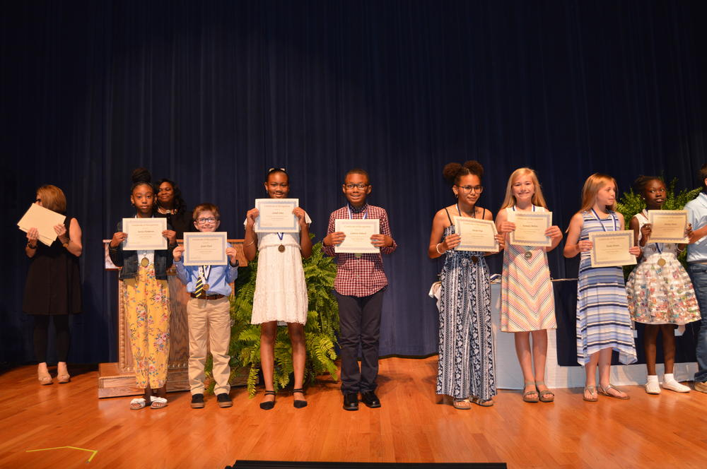 4th grade honor roll 4