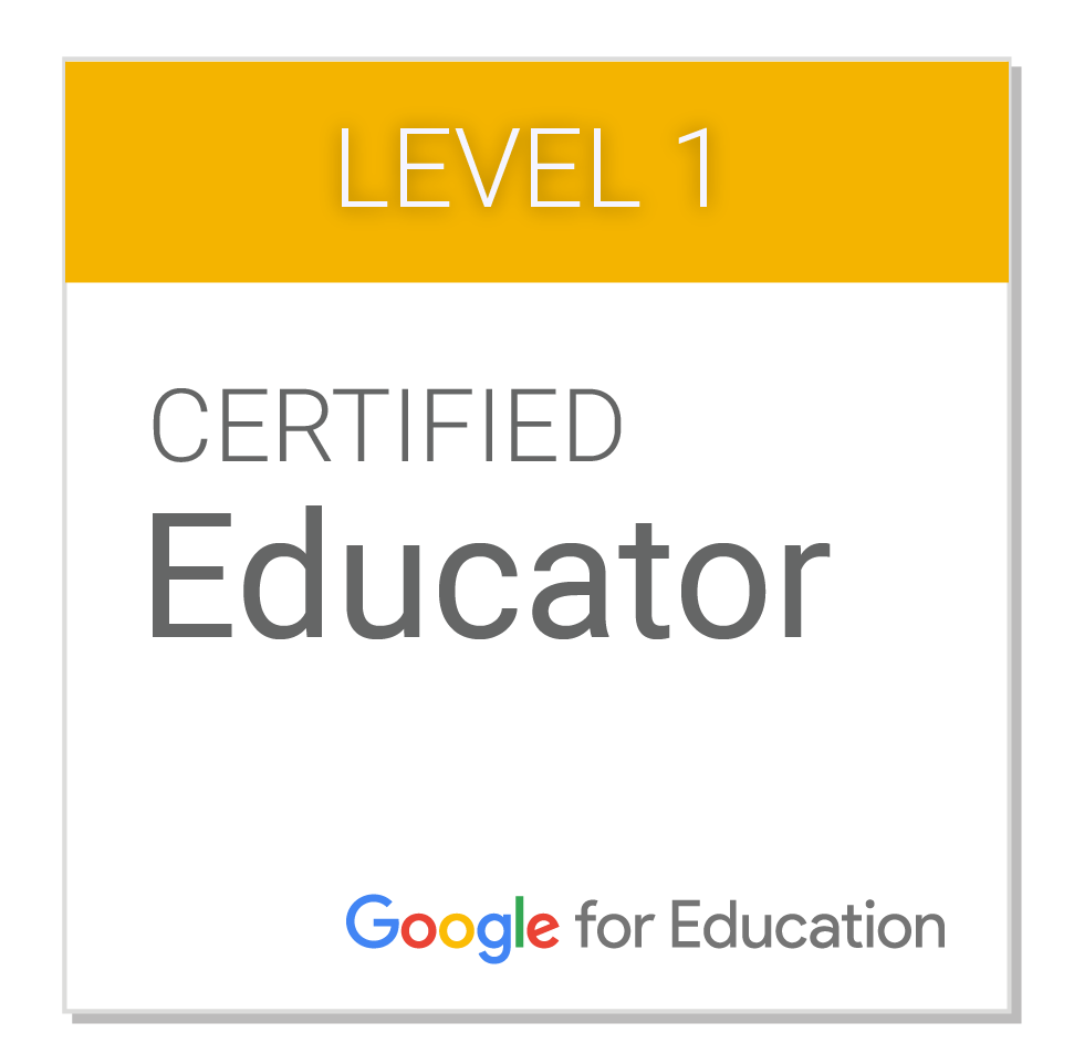Google Level 1 Educator